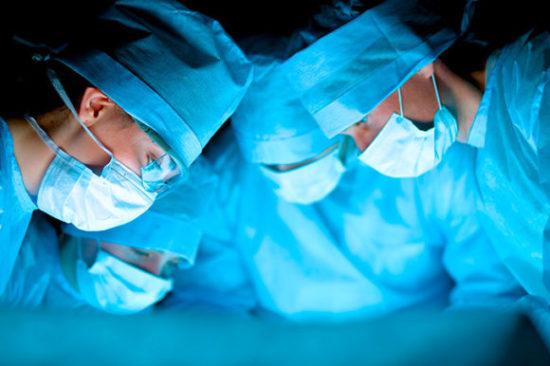 хирургическая реконструкция тазового дна с использованием сетчатых протезов